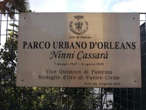 Parco Ninni Cassarà - Foto di Francesca Abbate