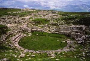 Il sito archeologico della città di Iaitas