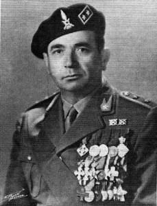 Il generale di brigata Francesco de Martini