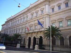 Roma: Palazzo Koch sede della Banca d'Italia