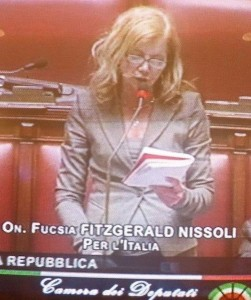 on. Fucsia FitzGerald Nissoli (PI) per la tutela del Made in Italy