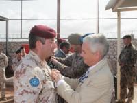 EUTM Somalia: consegna delle medaglie ai militari della missione