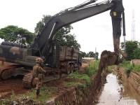 Centrafrica: i genieri italiani bonificano un canale idrico
