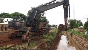 Repubblica Centrafricana : genieri itaiani