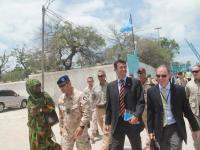 Mogadiscio: delegazione dell'Unione Europea in visita dal Primo ministro Ahmed