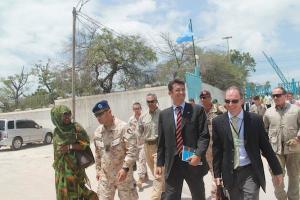 primo ministro della Repubblica Federale di Somalia, Abdiweli Sheikh Ahmed