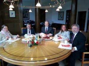 Il sindaco Schostok riceve il presidente del Comites Scigliano