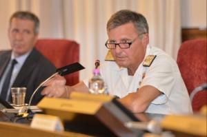 L'ammiraglio Donato Marzano