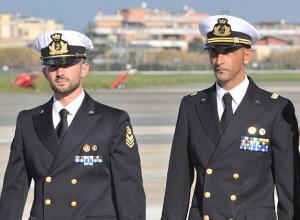Salvatore Girone e Massimiliano Latorre