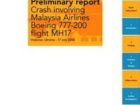 Preliminary report of MH17 crash