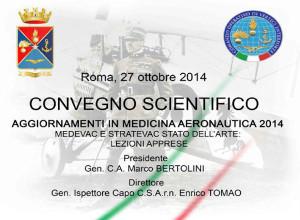 Aggiornamenti in Medicina Aeronautica 2014