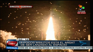 In orbita il primo satellite argentino