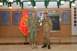 L'ammiraglio Ferguson e il generale Figliuolo