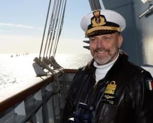 L'ammiraglio di squadra Giuseppe De Giorgi