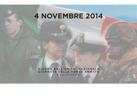 Presidente Napolitano: l'Italia fa affidamento sui suoi militari per la propria sicurezza e affermazione della pace