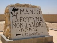 Pellegrinaggio in occasione dell'anniversario della Battaglia di El Alamein