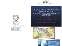 Avanzata dell'ISIS nel teatro medio orientale e ripercussioni sull'Europa e sull'Italia: a Roma presentazione Rapporto Icsa