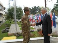 Il comandante della KFOR generale Figliuolo incontra il Capo della missione OSCE in Kosovo