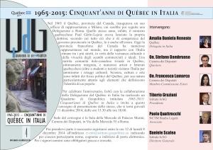 Quebec in Italia