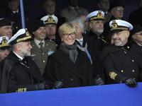 Ministro Pinotti al giuramento all'Accademia Navale di Livorno: sbloccate le assunzioni del personale civile