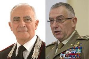 Il generale Tullio del Sette e il generale Claudio Graziano