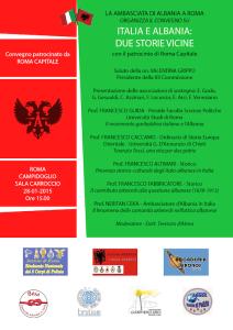 Italia e Albania: due storie vicine