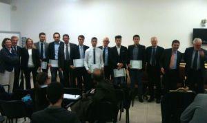 Anssaif - Un momento della premiazione degli studenti dell'Elis College
