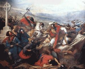 Battaglia di Poitiers (732 d.C.) - Carlo Martello contro Abdulrahman