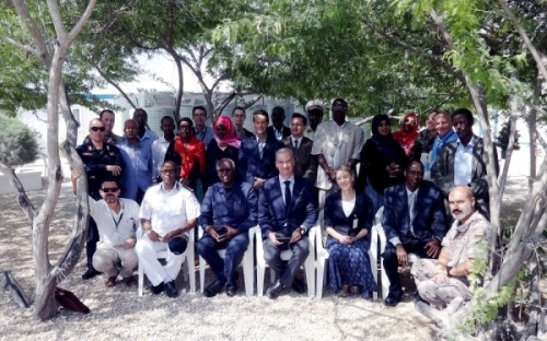 EUCAP Nestor Policy and Legal Framework Workshop held in Mogadishu