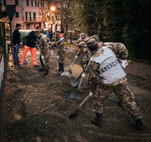 Esercito impegnato per emergenza maltempo e missioni internazionali