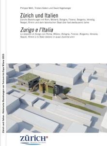 La copertina del volume Zurigo e l'Italia