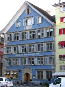 La sede della Corporazione zur Waag a Zurigo