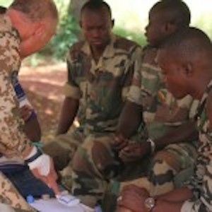 Training Malian security Forces