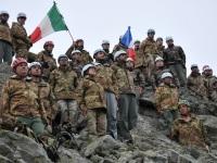 La Brigata italo – francese impegnata nell'esercitazione Transalpine Bond