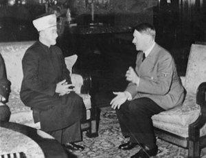 Hitler ed il Gran Mufty di Gerusalemme (zio di Arafat)