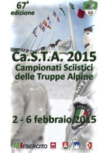 CaSTA 2015 Campionati sciistici delle truppe alpine