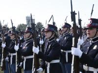 """A Viterbo il giuramento degli allievi marescialli del 17° corso """"coraggio"""""""