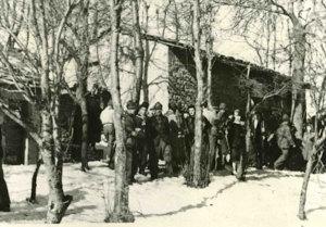 I partigiani della Osoppo a Topli Uork (inverno 1944-1945)