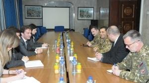 Il Comandante della Kosovo Force  generale di divisione Francesco Paolo Figliuolo