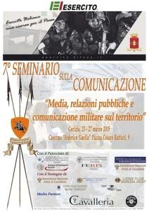 7° seminario sulla comunicazione. Gorizia 23-27 marzo 2015