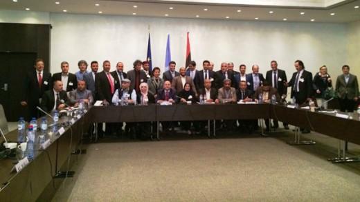 Libyan Municipalities' Meeting in Brussels
