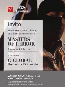 """invito alla presentazione di """"masters o terror"""" - il nodo di gordio"""