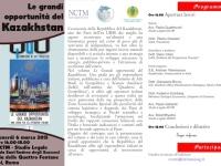 Le grandi opportunità del Kazakhstan: una conferenza a Roma