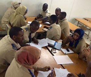 la polizia di Gibuti addestrata dai carabinieri