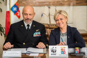 Marina Militare e WWF Italia firmano un accordo di collaborazione