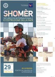 Shomèr - sicurezza internazionale e costruzione della pace
