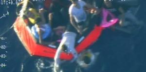 Naufragio: barcone in difficoltà