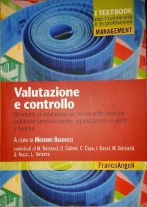 Valutazione e Controllo, libro di Massimo Balducci