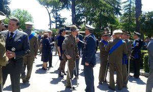 Cerimonia costituzione Esercito italiano
