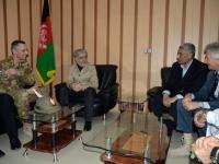 La missione Resolute Support al centro del colloquio tra il gen. Risi e alte cariche istituzionali afghane
